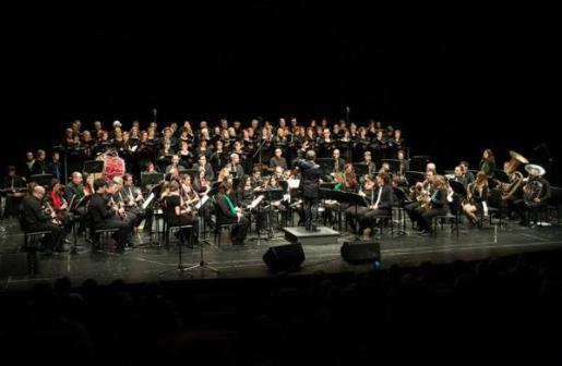 La Banda de Música de Manacor ofrece un concierto en el Auditori de Manacor.