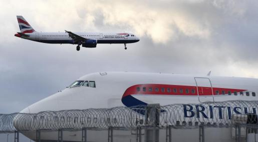 British Airways suspende los vuelos a China.