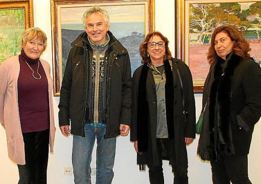 Joanna Deià, Ralph Angrick, Pilar Cerdà y Verónica Solivellas.
