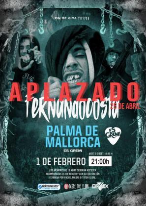 Aplazado el concierto de Fernandocosta en Mallorca por motivos de salud.