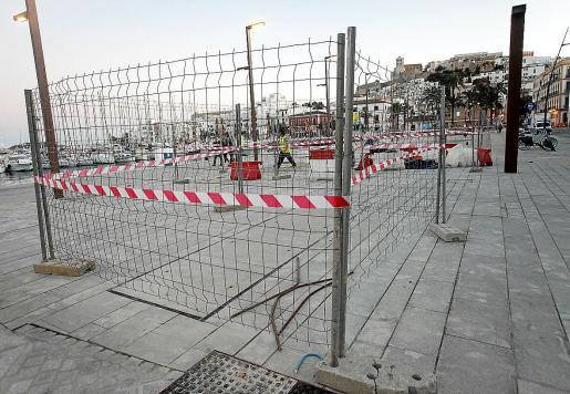 Las pruebas en el tanque de tormentas de Ibiza siguen su curso