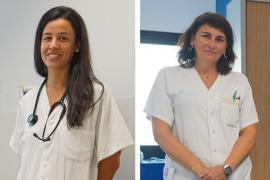 Silvia Torres y Marisa Escobar