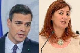 Pedro Sánchez / Francina Armengol