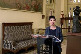 Silvia Cano, portavoz del PSIB-PSOE