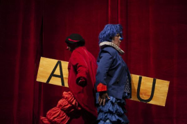 'Ximpum' lleva el mundo del clown a los más pequeños en el Teatre Sans