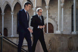 Sánchez plantea a Torra poner en marcha este mes de febrero la mesa de diálogo