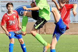 Portmany, Rápid y San Rafael, primeros líderes en la Copa cadete