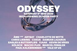 """Los mejores artistas del house y el techno centran el cartel de la """"Opening party"""" de Odyssey"""
