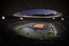 Nadal y Federer logran el récord mundial de asistencia a un partido de tenis