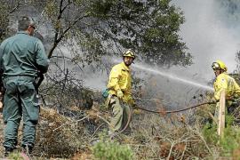 En el banquillo el acusado de causar un incendio forestal en Buscastell