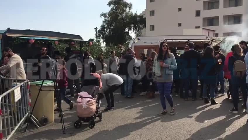 La caravana de 'food trucks' ibicencos hace parada en Santa Eulària por sus fiestas