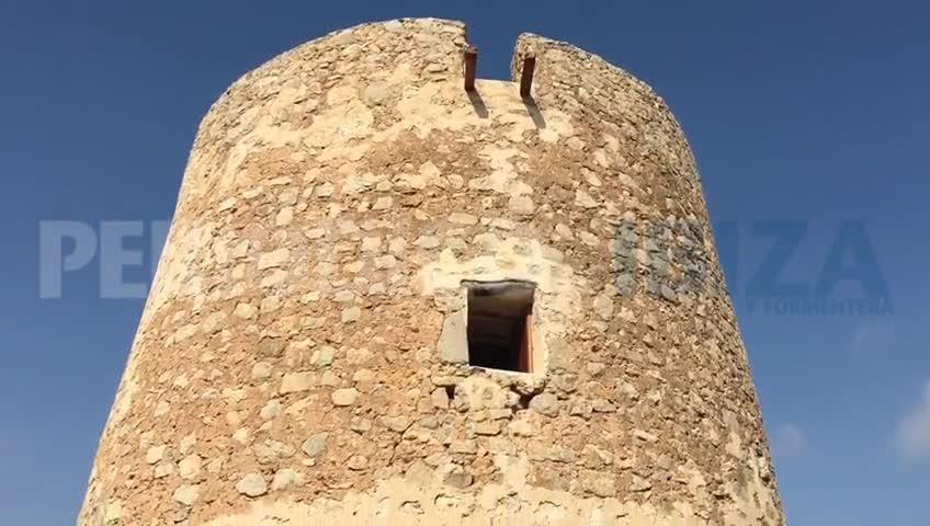 La Torre de Ca n'Espatleta vuelve a vigilar el sudeste ibicenco