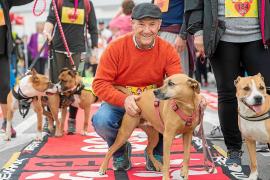 La perra Gamba gana la carrera canina de LDL to LDL