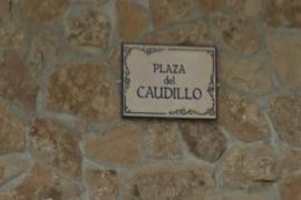 Plaza dedicada a Franco