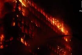 La pavorosa destrucción del rascacielos Windsor en Madrid cumple 15 años