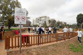 Nuevo espacio para practicar ejercicio al aire libre frente al centro de salud de Vila
