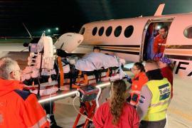 Realizado el tercer traslado de un paciente de Ibiza con oxigenación extracorpórea