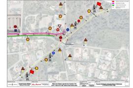 El próximo martes se regulará el tráfico en el cruce de Can Lluis de Sa Rota por obras