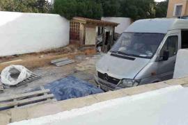Paralizadas unas obras ilegales en un restaurante de Sant Josep