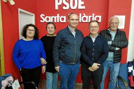 Ramón Roca, nuevo secretario de la Agrupación Socialista de Santa Eulària