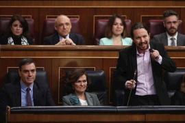 Iglesias critica a PP y Vox de «descojonarse» de las «niñas prostituidas» en Baleares