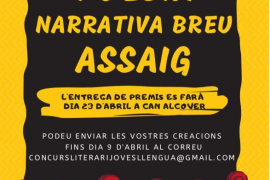 Joves de Mallorca per la Llengua convocan un concurso literario para fomentar la creación en catalán