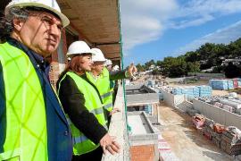 Las obras del colegio ses Planes en Cala de Bou estarán terminadas para verano