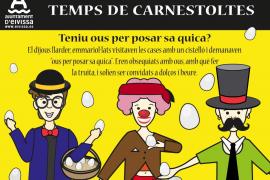 Vila promociona tradiciones y palabras ibicencas relacionadas con el carnaval