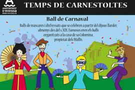 El Ayuntamiento promociona el uso de palabras ibicencas relacionadas con el carnaval