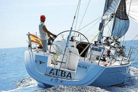 El 'Alba Alba' de Luis Mata conquista la Vuelta a Formentera