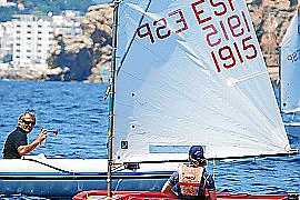 Raquel Alandete demuestra su técnica en el Trofeo Endesa