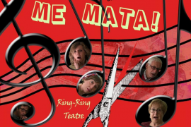 Ring-Ring Teatre recala en Santa Maria con la divertida obra 'Aquesta sonata me mata!'