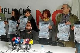 Protesta contra la ampliación «encubierta» de Son Sant Joan el 1 de marzo