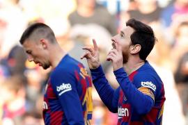 Messi impone su ley en el Camp Nou