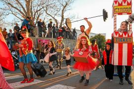 El efecto Greta Thunberg se deja notar en el Carnaval de Sant Joan