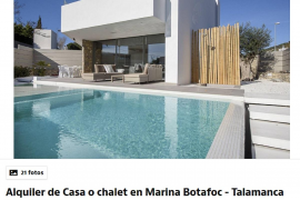 El precio medio en Ibiza de un alquiler de temporada es de 2.000 euros al mes
