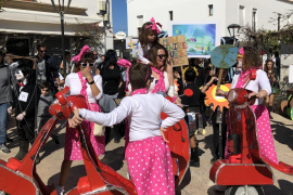 El Carnaval de Formentera, en imágenes.