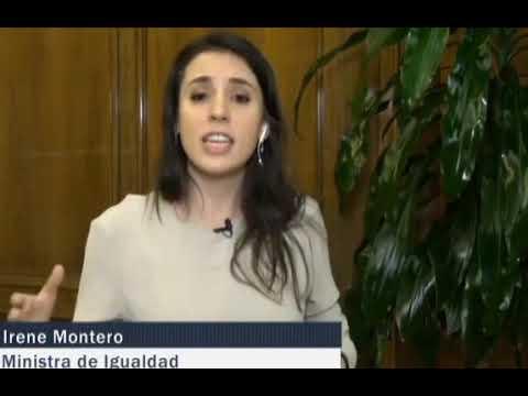 Irene Montero: «Cuando una mujer denuncia una agresión sexual en comisaría se le pregunta si iba vestida con una minifalda»