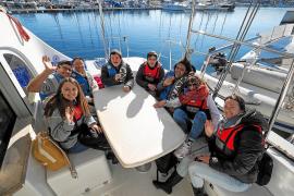 Los usuarios de Apneef toman el timón de la Setmana del Mar