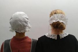 'Dia de rebuda', en Can Balaguer, con motivo del Día de la Mujer