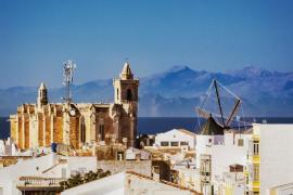 Mallorca vista desde Menorca
