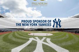Palladium Hotel Group, nuevo patrocinador de los New York Yankees