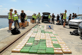 Sale a subasta un yate interceptado en Ibiza con 300 kilos de cocaína en 2018