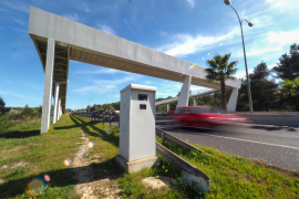 El radar fijo de Sant Antoni 'facturó' 4,8 millones de euros en 2019