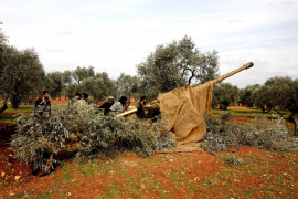 Soldados sirios en Idlib