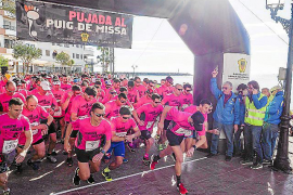 Más de medio millar de atletas subirán el domingo al Puig de Missa