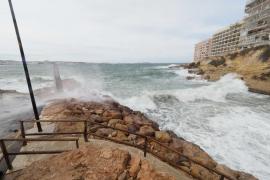 Ibiza y Formentera están hoy en alerta naranja por fuertes rachas de viento