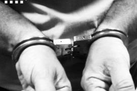 Imagen de archivo de un detenido