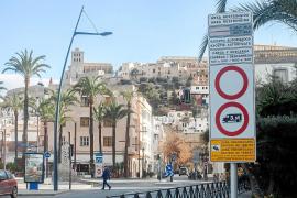 Los comerciantes piden a Vila que diferencie las zonas Acire de la Marina y Dalt Vila