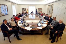 Consejo de Ministros en Moncloa